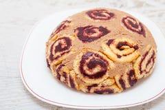 Χελώνα όπως το γλυκό κέικ κακάου και μαρμελάδας Στοκ εικόνες με δικαίωμα ελεύθερης χρήσης