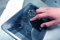 Χημεία και medicinein στοκ φωτογραφία με δικαίωμα ελεύθερης χρήσης