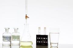 Χημεία νερού Στοκ φωτογραφία με δικαίωμα ελεύθερης χρήσης
