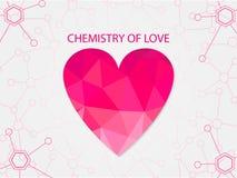 Χημεία της αγάπης Στοκ Φωτογραφίες