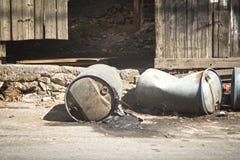 Χημικά απόβλητα Στοκ φωτογραφίες με δικαίωμα ελεύθερης χρήσης