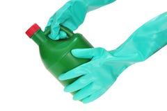 χημικά γάντια Στοκ Φωτογραφίες