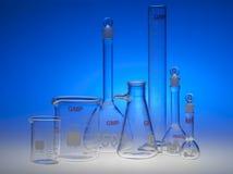 Χημικά γυαλικά Στοκ εικόνα με δικαίωμα ελεύθερης χρήσης
