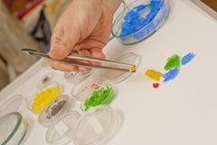 Χημικά κρύσταλλα στοκ εικόνα με δικαίωμα ελεύθερης χρήσης