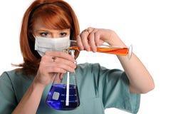 χημικές ουσίες που αναμ&iot Στοκ Εικόνες