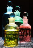 χημικές ουσίες Στοκ φωτογραφία με δικαίωμα ελεύθερης χρήσης