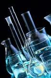 χημικές φιάλες Στοκ φωτογραφία με δικαίωμα ελεύθερης χρήσης