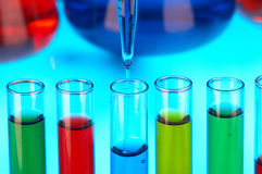 χημική έρευνα στοκ εικόνες