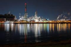 χημική βιομηχανία Στοκ Εικόνες