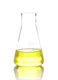 Χημική εργαστηριακή φιάλη στοκ φωτογραφία με δικαίωμα ελεύθερης χρήσης