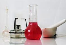 Χημική εργαστηριακή φωτογραφία Στοκ εικόνες με δικαίωμα ελεύθερης χρήσης