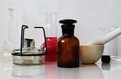 Χημική εργαστηριακή φωτογραφία Στοκ Φωτογραφία