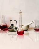 Χημική εργαστηριακή φωτογραφία Στοκ Εικόνες