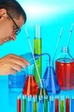 χημική ουσία ανάλυσης στοκ φωτογραφία