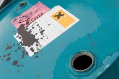 χημική ουσία βαρελιών Στοκ Φωτογραφίες