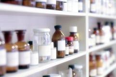χημική ουσία μπουκαλιών Στοκ Φωτογραφίες