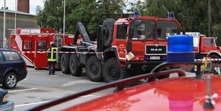 Χημική πυρκαγιά Στοκ Εικόνες