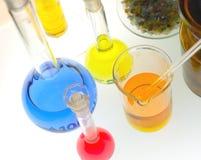 χημική φιάλη συλλογής Στοκ Εικόνα