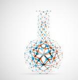 χημική φιάλη Στοκ εικόνα με δικαίωμα ελεύθερης χρήσης