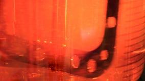 Χημικός αναμίκτης αντιδραστήρων απόθεμα βίντεο