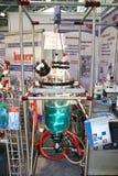 χημικός εργαστηριακός αντιδραστήρας γυαλιού tirit στοκ εικόνες με δικαίωμα ελεύθερης χρήσης