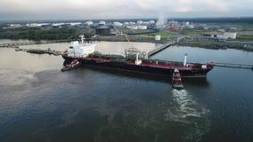 Χημικός ποταμός Φιλαδέλφεια PA του Ντελαγουέρ βυτιοφόρων πετρελαίου φιλμ μικρού μήκους