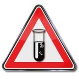 Χημικός σωλήνας διανυσματική απεικόνιση