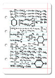 χημικός τύπος Στοκ εικόνα με δικαίωμα ελεύθερης χρήσης