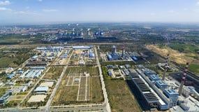 Χημικό εργοστάσιο Κίνα στοκ εικόνες με δικαίωμα ελεύθερης χρήσης