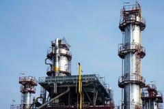 χημικό εργοστάσιο λεπτομέρειας Στοκ Φωτογραφίες