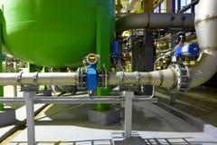 Χημικό εργοστάσιο Στοκ Φωτογραφία