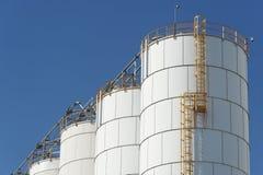 Χημικό εργοστάσιο στοκ φωτογραφίες