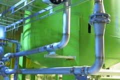 χημικό εργοστάσιο Στοκ εικόνα με δικαίωμα ελεύθερης χρήσης