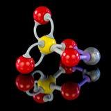 Χημικό πρότυπο για το θειικό άλας χαλκού Στοκ Εικόνες