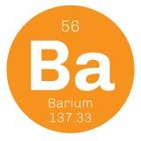 Χημικό στοιχείο βάριου Απεικόνιση αποθεμάτων