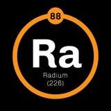 Χημικό στοιχείο ραδίου Ελεύθερη απεικόνιση δικαιώματος