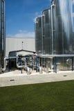 Χημικό φυτό εργοστασίων Στοκ εικόνες με δικαίωμα ελεύθερης χρήσης