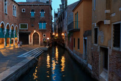 Χθες βράδυ σε Venecia Στοκ Φωτογραφία