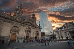Χιλή Σαντιάγο στοκ εικόνες