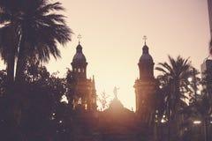 Χιλή Σαντιάγο στοκ φωτογραφίες