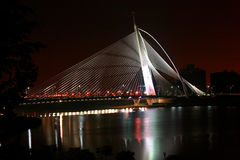 χιλιετία γεφυρών Στοκ φωτογραφίες με δικαίωμα ελεύθερης χρήσης