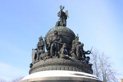 χιλιετία Ρωσία 1862 τεμαχίων Στοκ Εικόνες