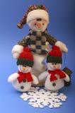 χιονάνθρωποι στοκ εικόνες με δικαίωμα ελεύθερης χρήσης