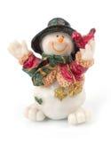 χιονάνθρωπος αριθμών Στοκ Φωτογραφίες