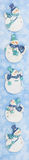 χιονάνθρωπος εμβλημάτων Στοκ φωτογραφία με δικαίωμα ελεύθερης χρήσης