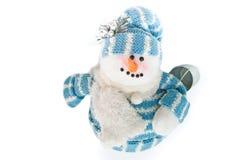 χιονάνθρωπος κάδων Στοκ εικόνα με δικαίωμα ελεύθερης χρήσης
