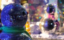 Χιονάνθρωπος καθρεφτών Στοκ Εικόνες