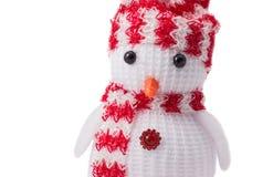 Χιονάνθρωπος κουρελιών Στοκ Εικόνα