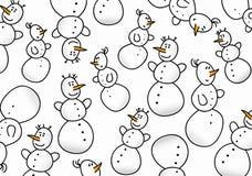 χιονάνθρωπος προτύπων ανα&s Στοκ Φωτογραφία