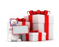 χιονάνθρωπος τρία κορδε&lam απεικόνιση αποθεμάτων
